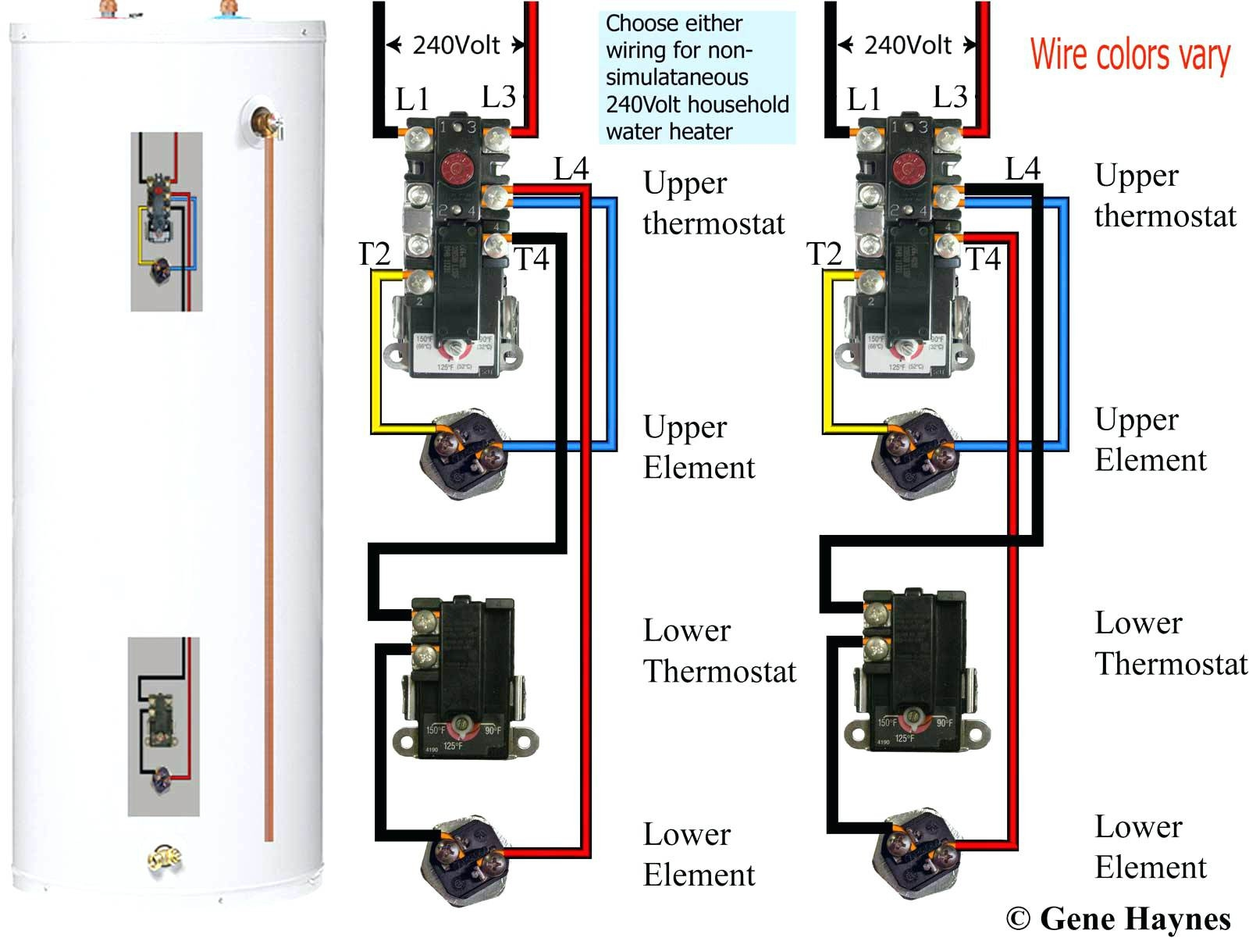Rheem Electric    Water       Heater       Wiring       Diagram      Free    Wiring