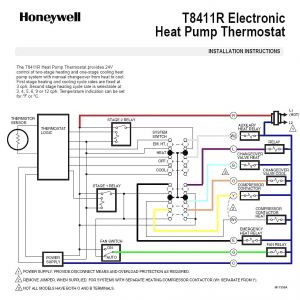 Rheem Heat Pump thermostat Wiring Diagram | Free Wiring ...