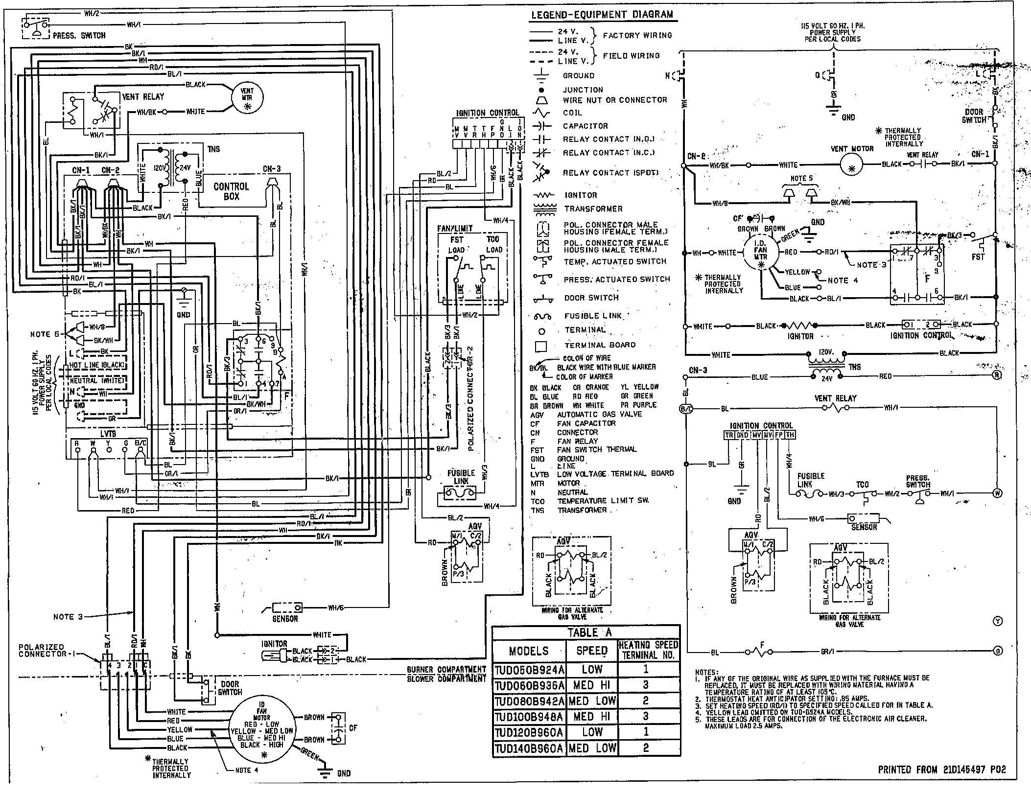 Rheem Oil Furnace Wiring Diagram