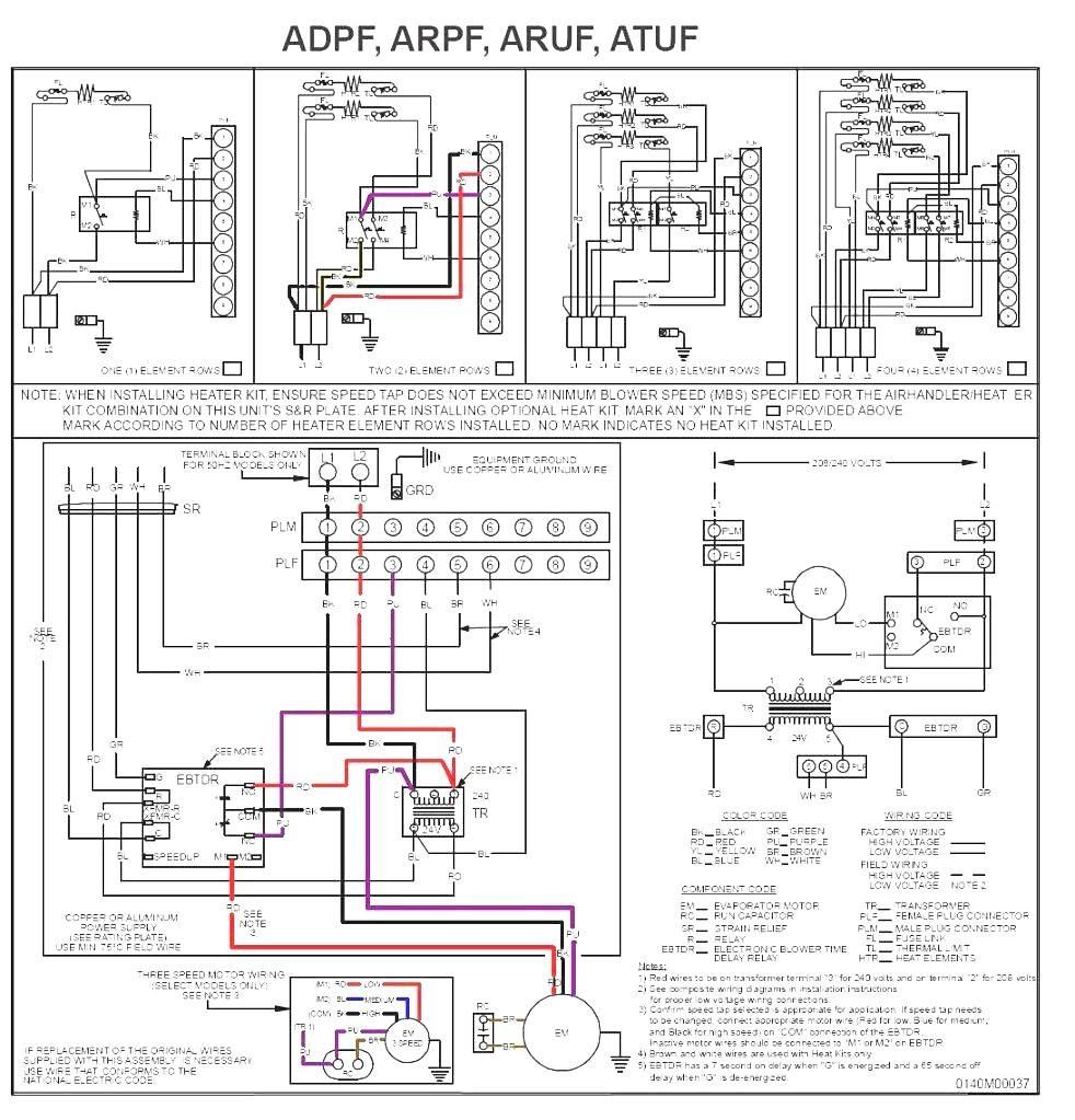 rheem rhllhm3617ja wiring diagram free wiring diagram Air-Handler Heat Pump Wiring