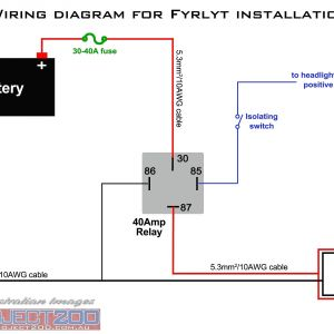 Rib Relay Wiring Diagram - Wiring Diagram for Rib Relay Valid Wiring Diagram with Relay & Bosch Relay Wiring Diagram 14g