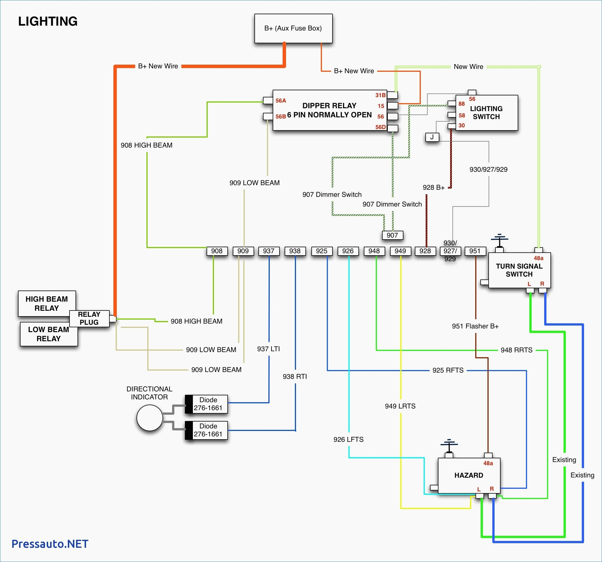 ribu1c wiring diagram Download-Wiring Diagram for Standard Relay Best Ribu1c Wiring Diagram 18-a