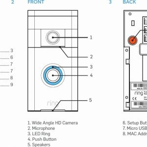 Ring Doorbell Wiring Diagram - Wiring Diagram Nutone Doorbell Wiring Diagram Inspirational Wiring Doorbell Wiring Diagrams Pinterest 13q