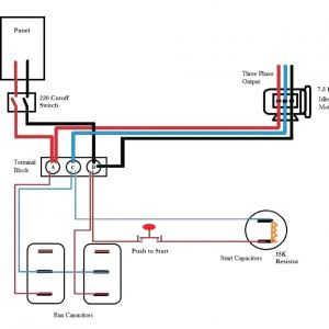 Ronk Phase Converter Wiring Diagram - Ronk Phase Converter Wiring Diagram 1 2n