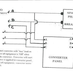 Ronk Phase Converter Wiring Diagram - Ronk Phase Converter Wiring Diagram 4 5a