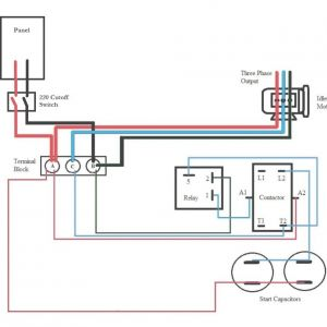 Rotary Phase Converter Wiring Diagram - Diagrams Rotary Phase Converter Wires Electric Throughout Beautiful 2j