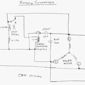 Rotary Phase Converter Wiring Diagram - Elegant Single Phase Motor Wiring Diagram with Capacitor Unique Single Phase Single Phase to 3 Phase 13r