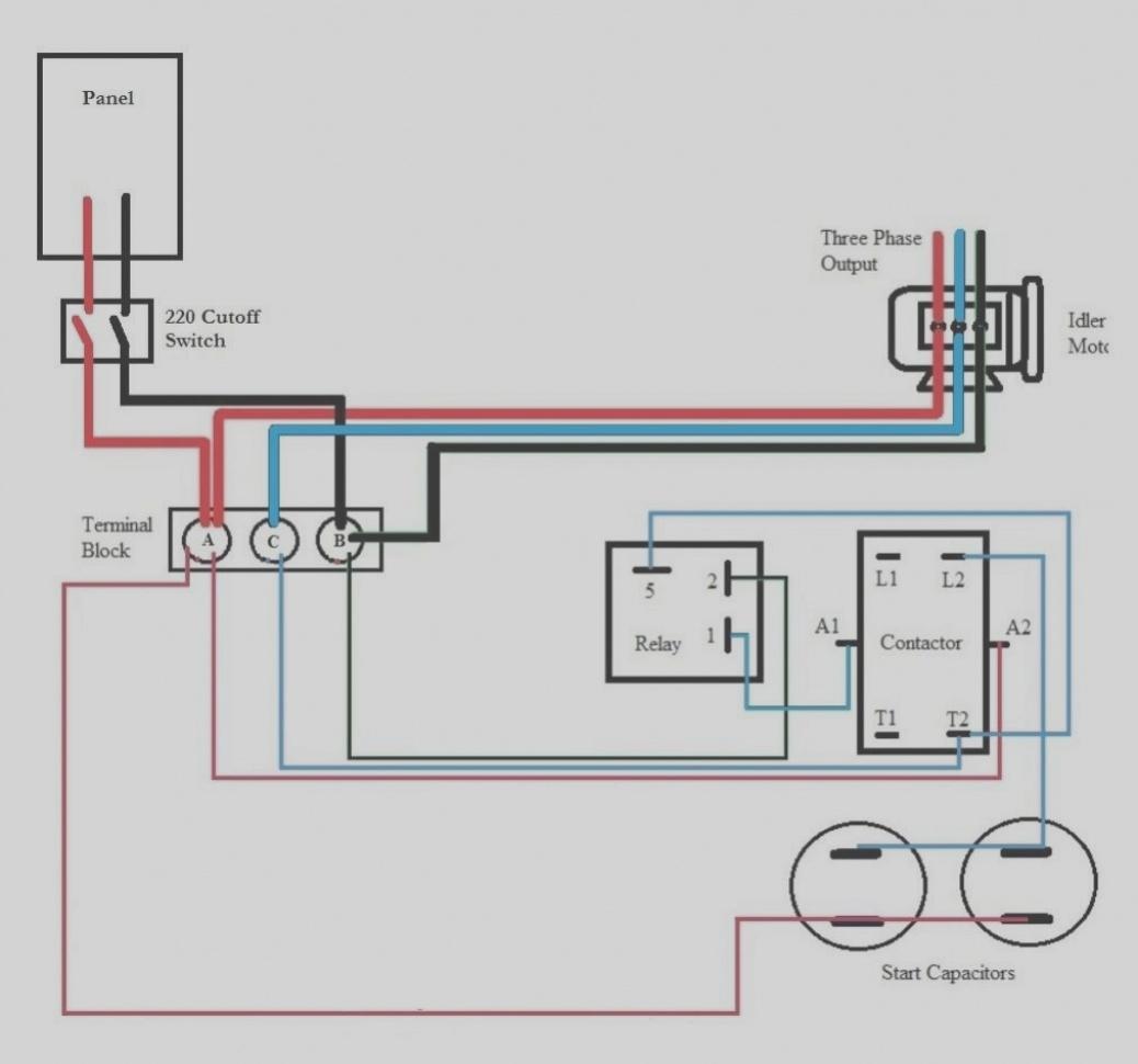 Roto Phase Converter Wiring Diagram | Free Wiring Diagram