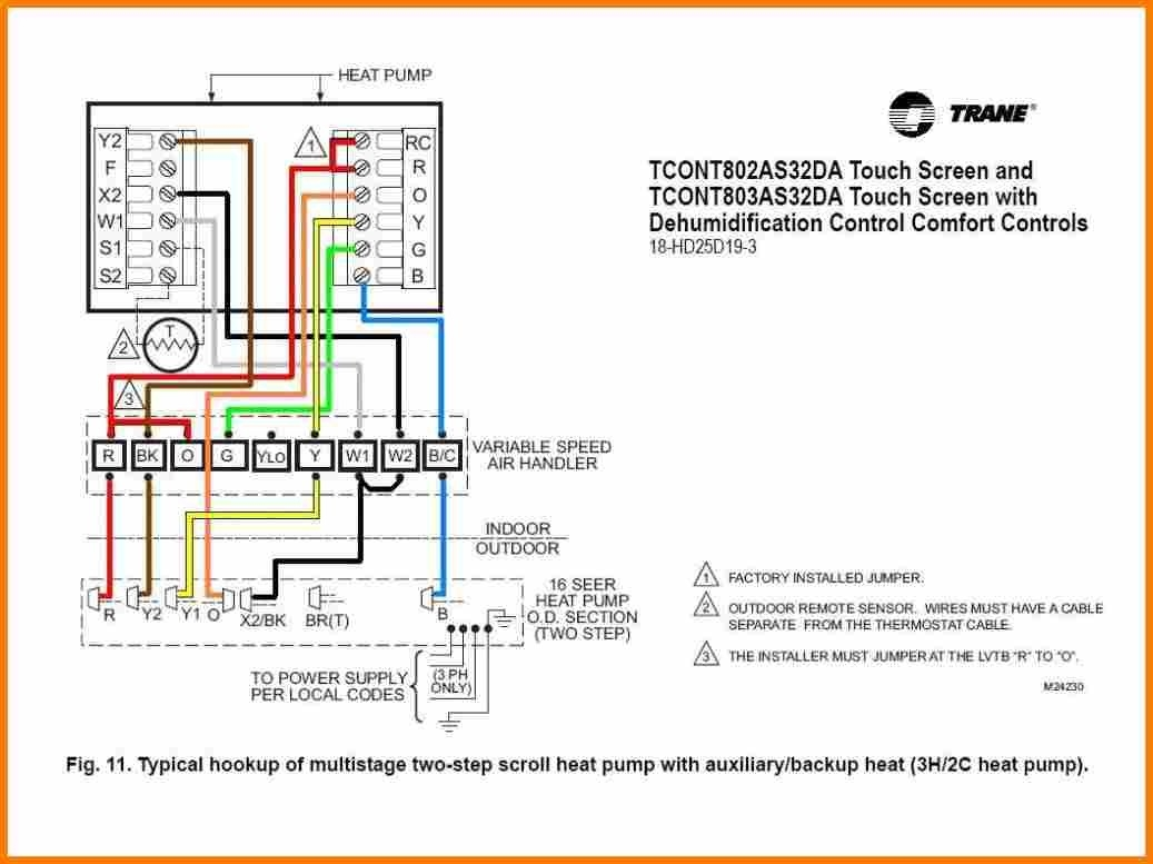 Ruud Heat Pump Thermostat Wiring Diagram