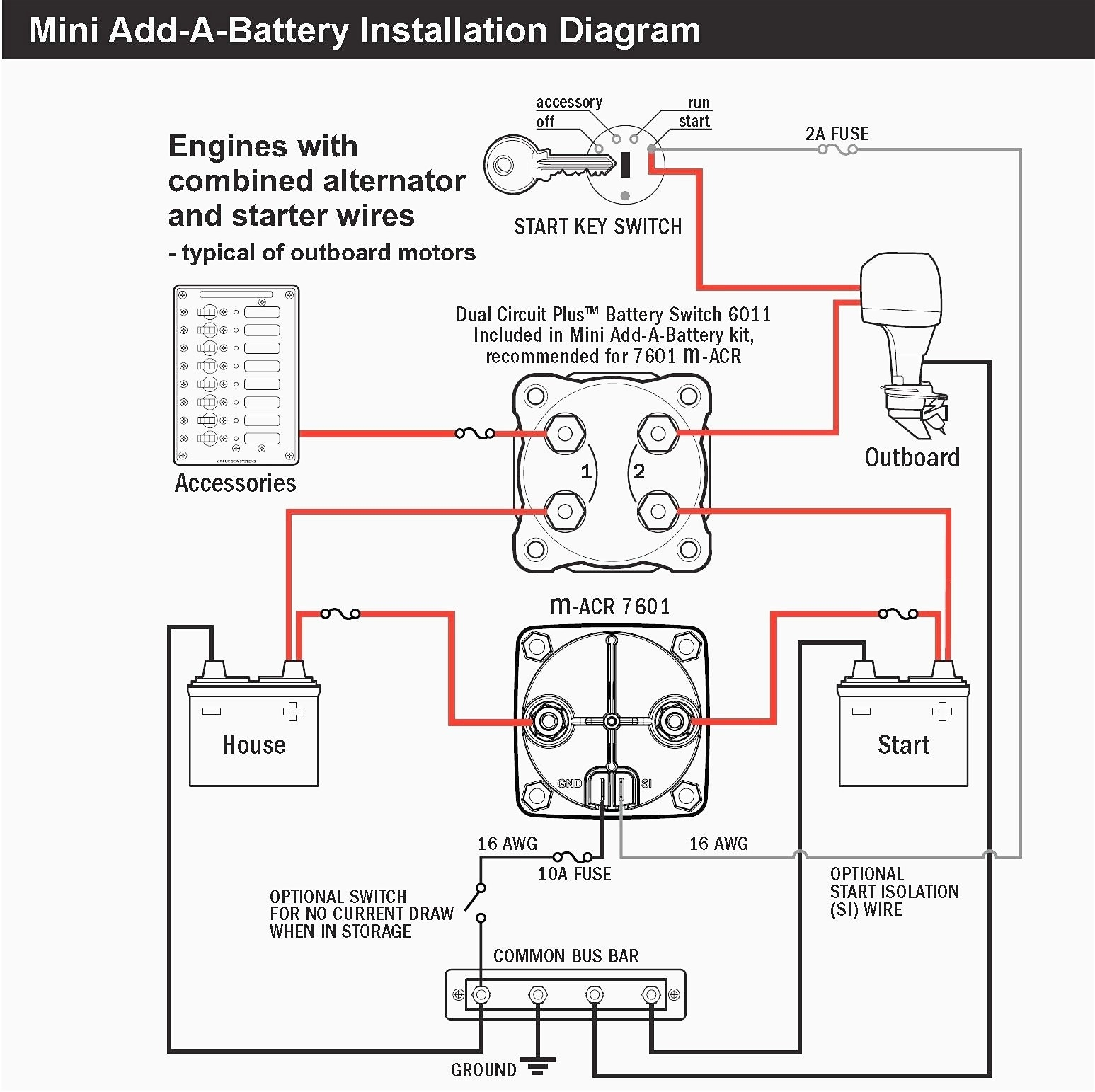 Rv Starter Wiring Diagram | Repair Manual on