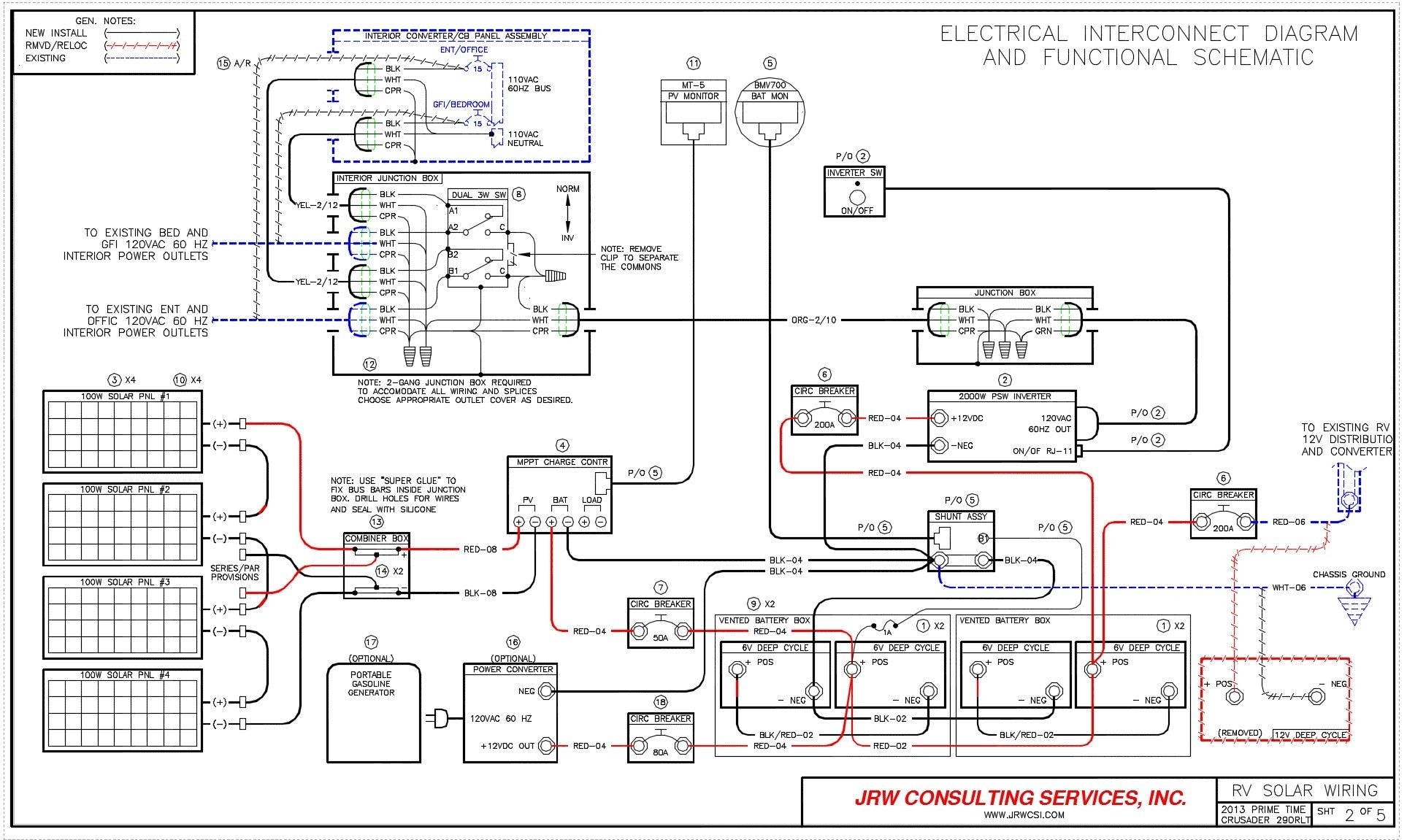 rv converter wiring schematic Download-Wiring Diagram solar Panels Inverter Refrence solar Panels Wiring Diagram Installation Awesome Content Rv Power 17-p