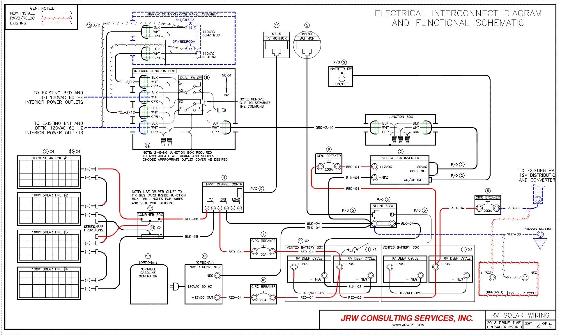 Rv Converter Wiring Schematic | Free Wiring Diagram