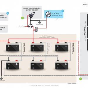 Rv solar Panel Installation Wiring Diagram - solar Panel Wiring Diagram Example Fresh Wiring Diagram for F Grid solar System Fresh Wiring Diagram 8c