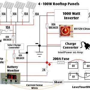 Rv solar Wiring Diagram - solar Panel Wiring Diagram Example Save Rv solar Wiring Diagram Detailed Look at Our Diy Rv 18m