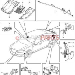 Saab 9 3 Wiring Diagram - Saab 9 3 Parts Diagram Lovely ] Saab Nut Hex with Con Wa M6x1 5 7 12c