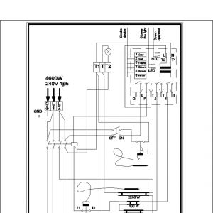 Sauna Heater Wiring Diagram - Sauna Heater Wiring Diagram Installation & Operation Instructions 2o