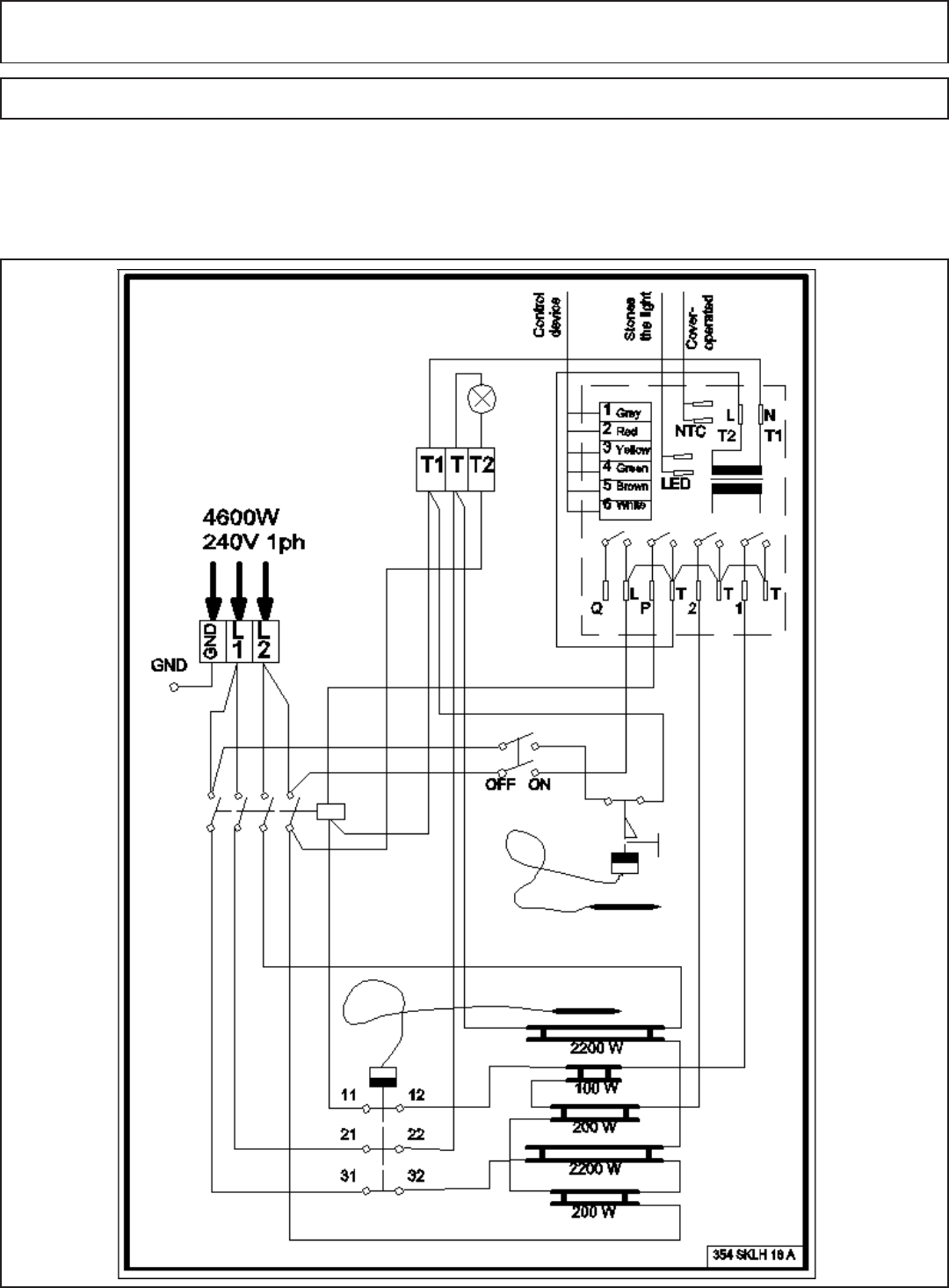 Sauna Heater Wiring Diagram
