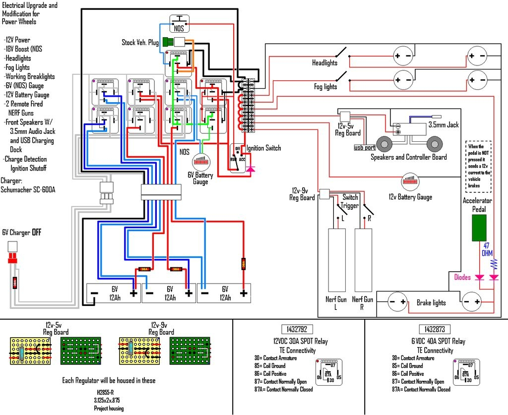 schumacher battery charger wiring schematic Download-Picture of Electrical wiring and charging system help 2-q