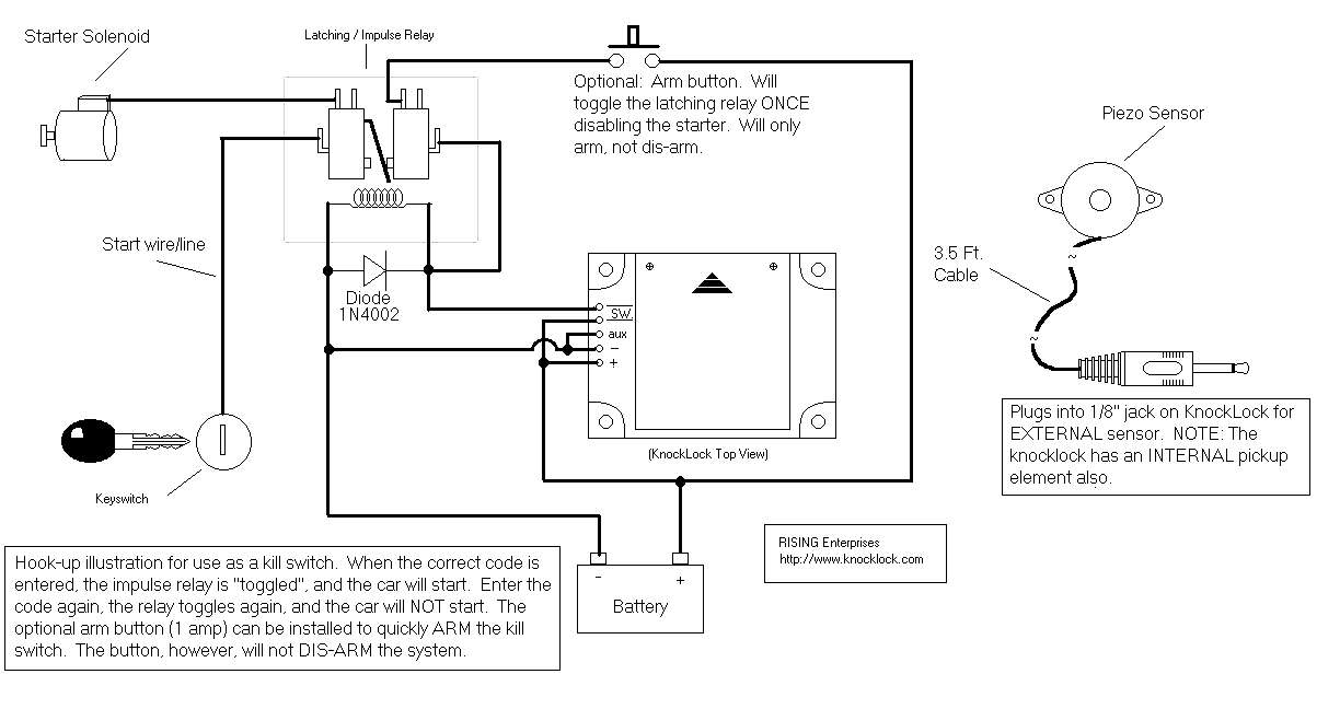 Garage Door Opener Circuit Diagram Single Pull Switch ... on
