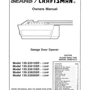 Sears Craftsman Garage Door Opener Wiring Diagram - Wiring Diagram for Stanley Garage Door Opener Best Manual Garage Door Opener Gallery Door Design for 8h
