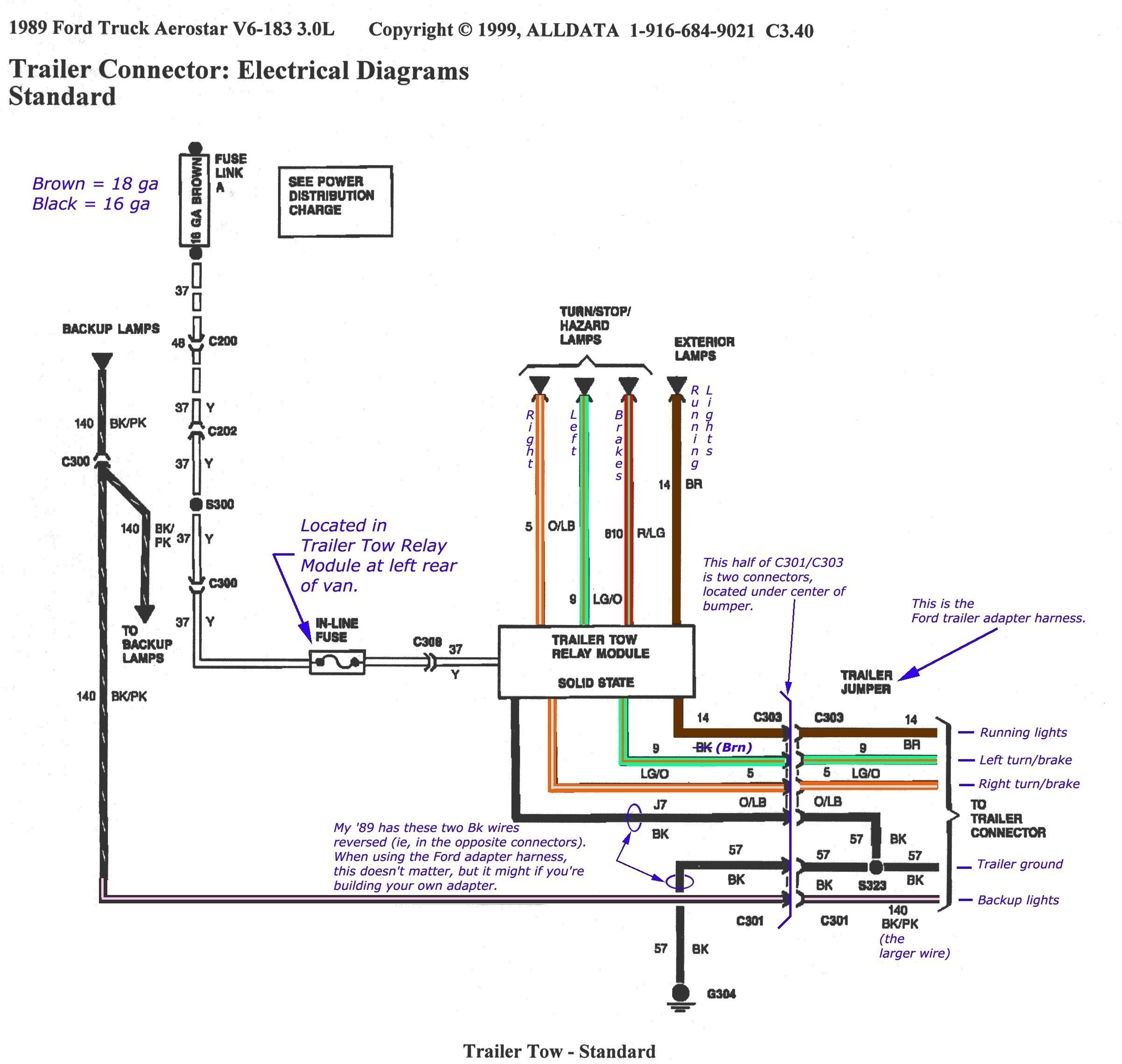 Semi Trailer Wiring Schematic