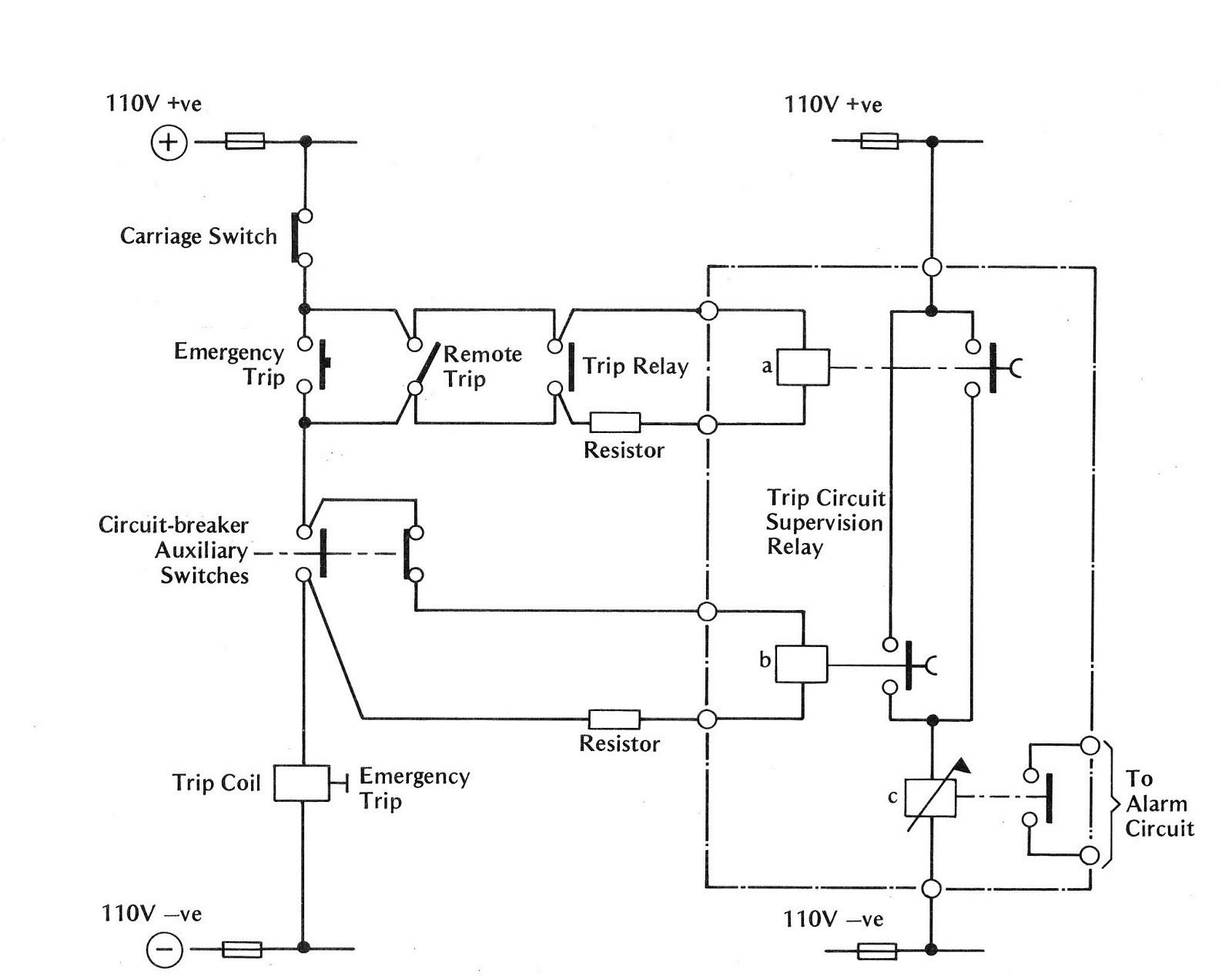 Wire Thermostat Wiring Diagram Shunt Trip Breaker on