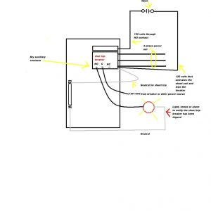 Shunt Trip Breaker Wiring Diagram - Siemens Shunt Trip Breaker Wiring Diagram and at Ansul System 14e