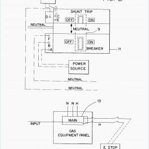 Shunt Trip Breaker Wiring Diagram - Siemens Shunt Trip Breaker Wiring Diagram with Square D and Wirdig Ideas 11c