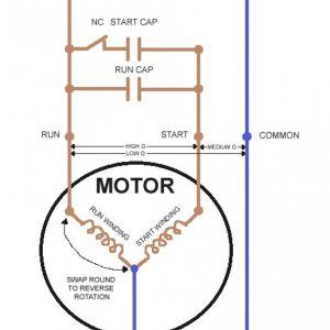 Single Phase Motor Wiring Diagram forward Reverse - Single Phase Motor Wiring Diagram with Capacitor Start Throughout Rh Natebird Me 1n