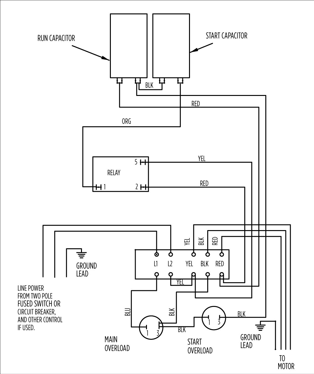 single phase submersible pump starter wiring diagram Download-3 wire well pump wiring diagram Wire Well Pump Wiringram Submersible Single Phase Water Control 8-c