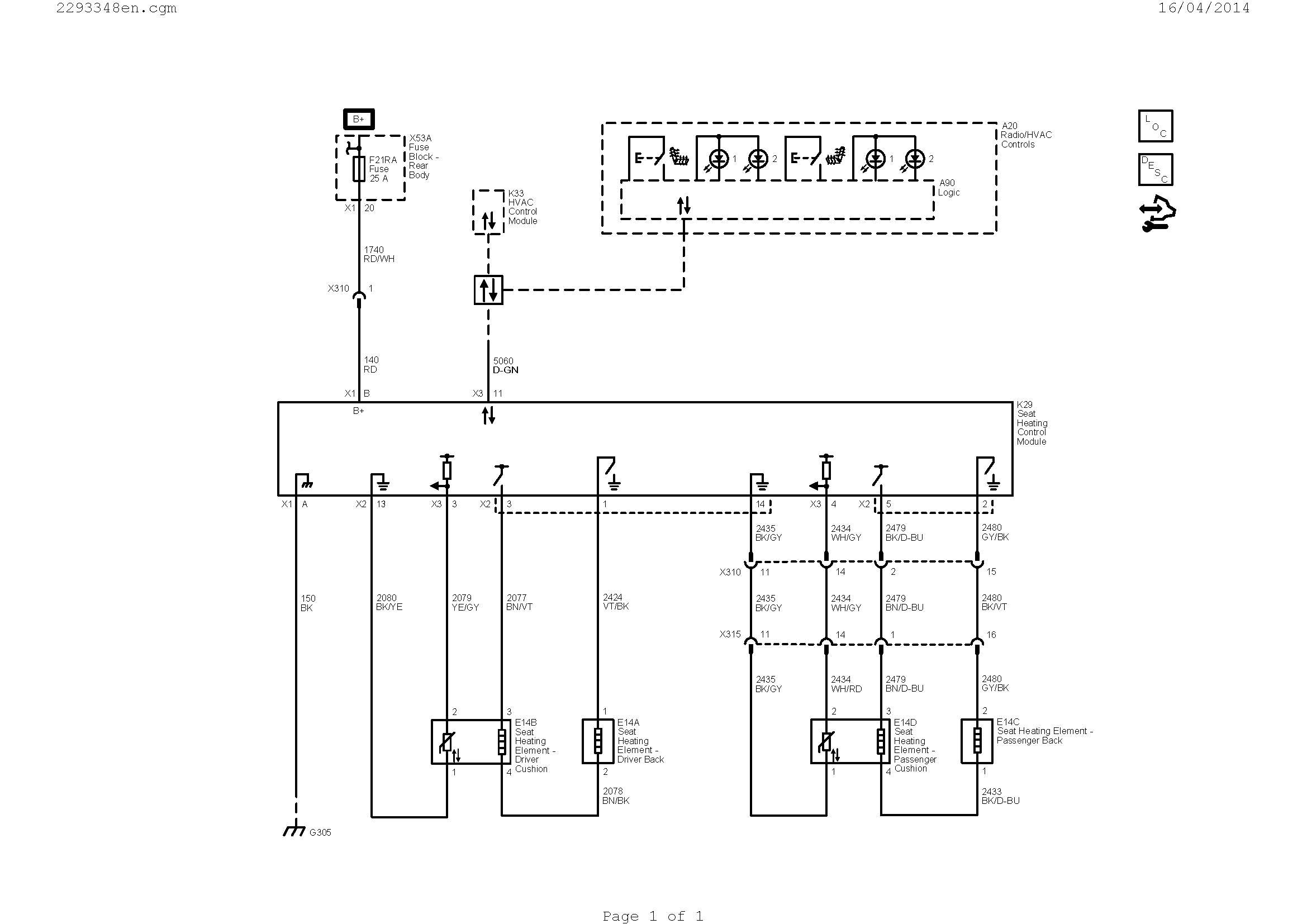 Smart Car Wiring Diagram