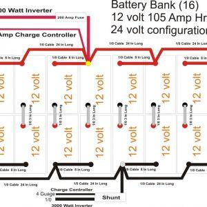 Solar Battery Bank Wiring Diagram | Free Wiring Diagram