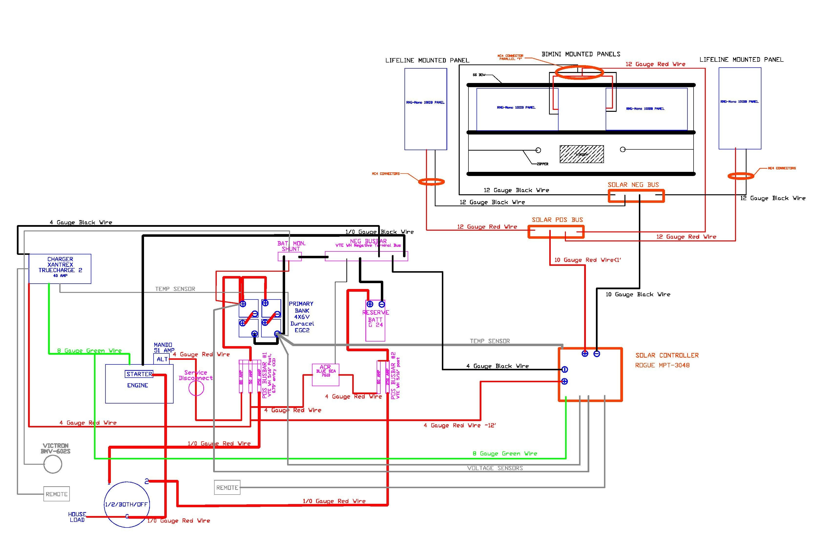 Solar Panel Wiring Diagram Schematic Free Residential Diagrams And Schematics House For