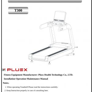 Sole F63 Wiring Diagram - T300 Mercial Treadmill User Manual Users Manual Jiangsu Plusx 1m
