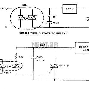 Solid State Timer Wiring Diagram - solid State Relay Circuit Diagram Awesome Ponent solid State Relay Schematic Relay Circuit Automation 17q