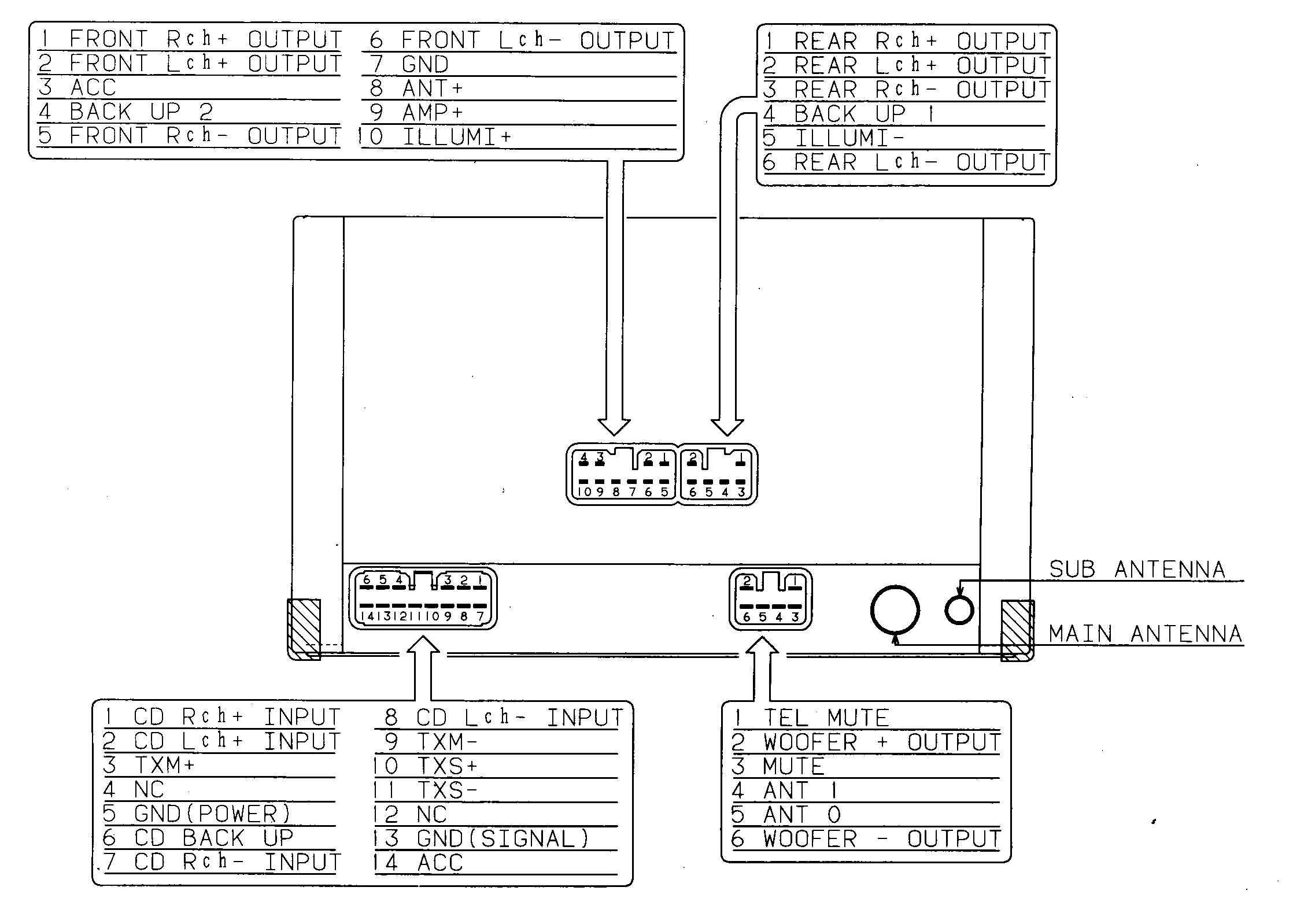 sony marine stereo wiring diagram Download-Wiring Diagram Detail Name sony marine 11-h
