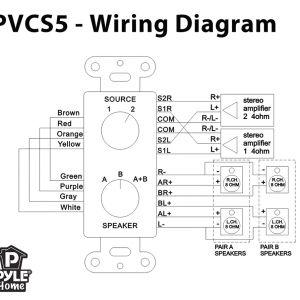Speaker Selector Switch Wiring Diagram - Speaker Selector Switch Wiring 10t