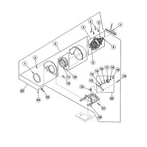 Speed Queen Dryer Wiring Diagram - P 16a