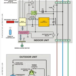Split Air Conditioner Wiring Diagram - Central Air Conditioning Wiring Diagram Download Split Air Conditioner Wiring Diagram Hermawan S Blog for 19b