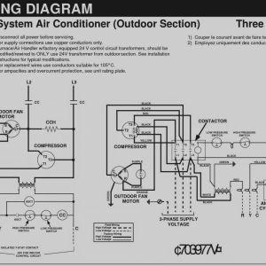 Split Air Conditioning Wiring Diagram - Split Air Conditioner Wiring Diagram Beautiful 3 Phase Ac Electrical Wiring Diagrams Split System Air 6h
