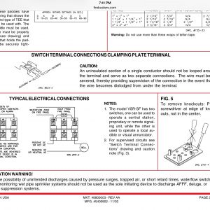 Sprinkler Flow Switch Wiring Diagram - Flow Switch and Bell Wiring Electrician Talk Professional 5r