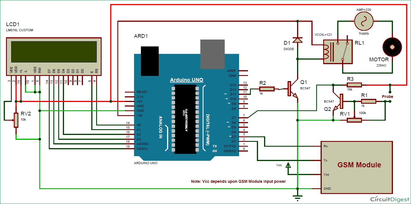 sprinkler wiring diagram - sprinkler wiring diagram download circuit diagram  for arduino based automatic plant irrigation