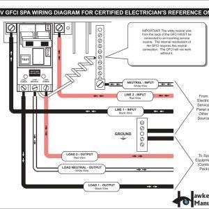 Square D Gfci Breaker Wiring Diagram - Wiring Diagram Gfci Outlet Valid 2 Pole Gfci Breaker Wiring Diagram Fantastic Wiring Diagram 3q