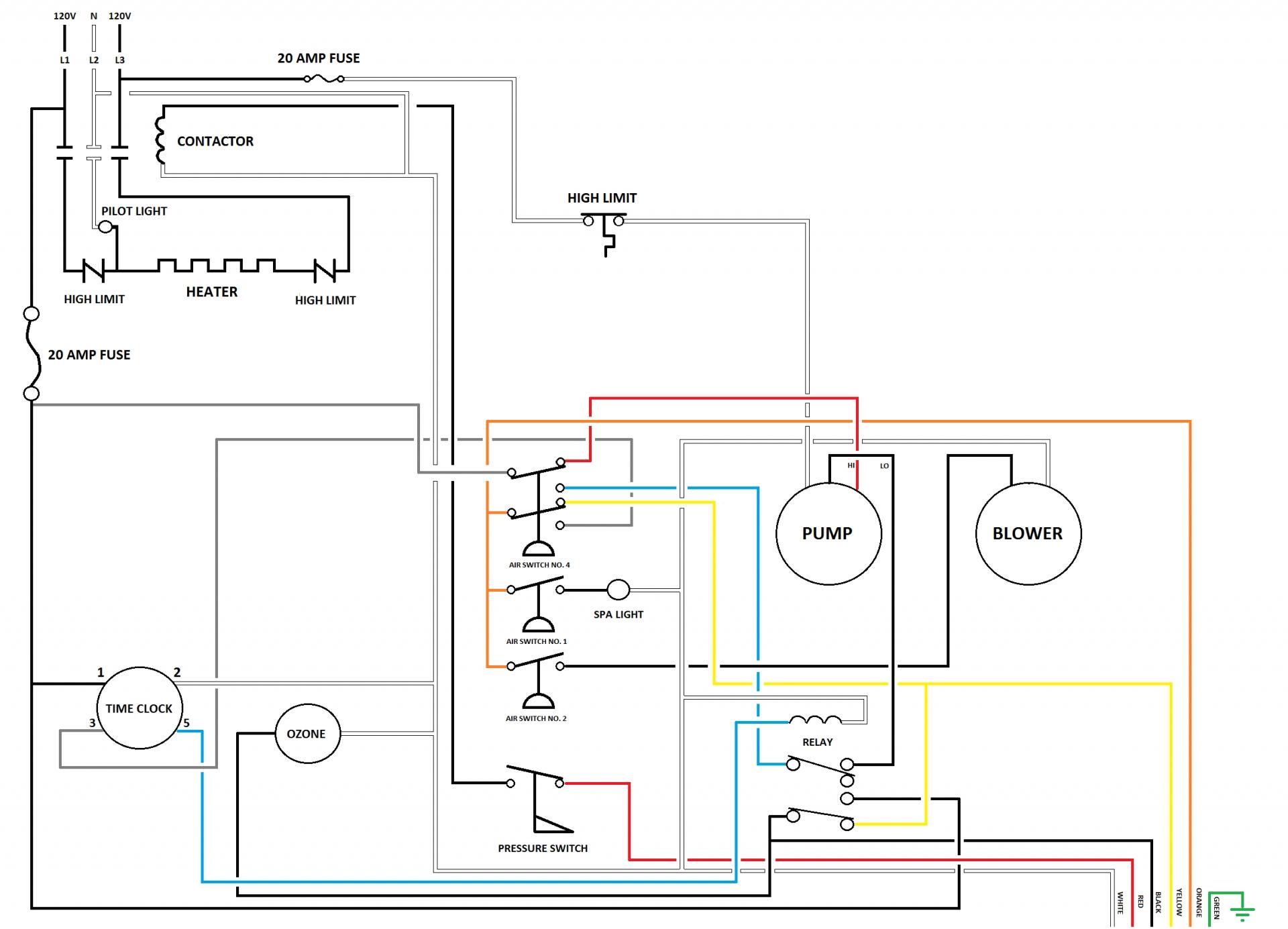 square d hot tub gfci breaker wiring diagram free wiring diagram
