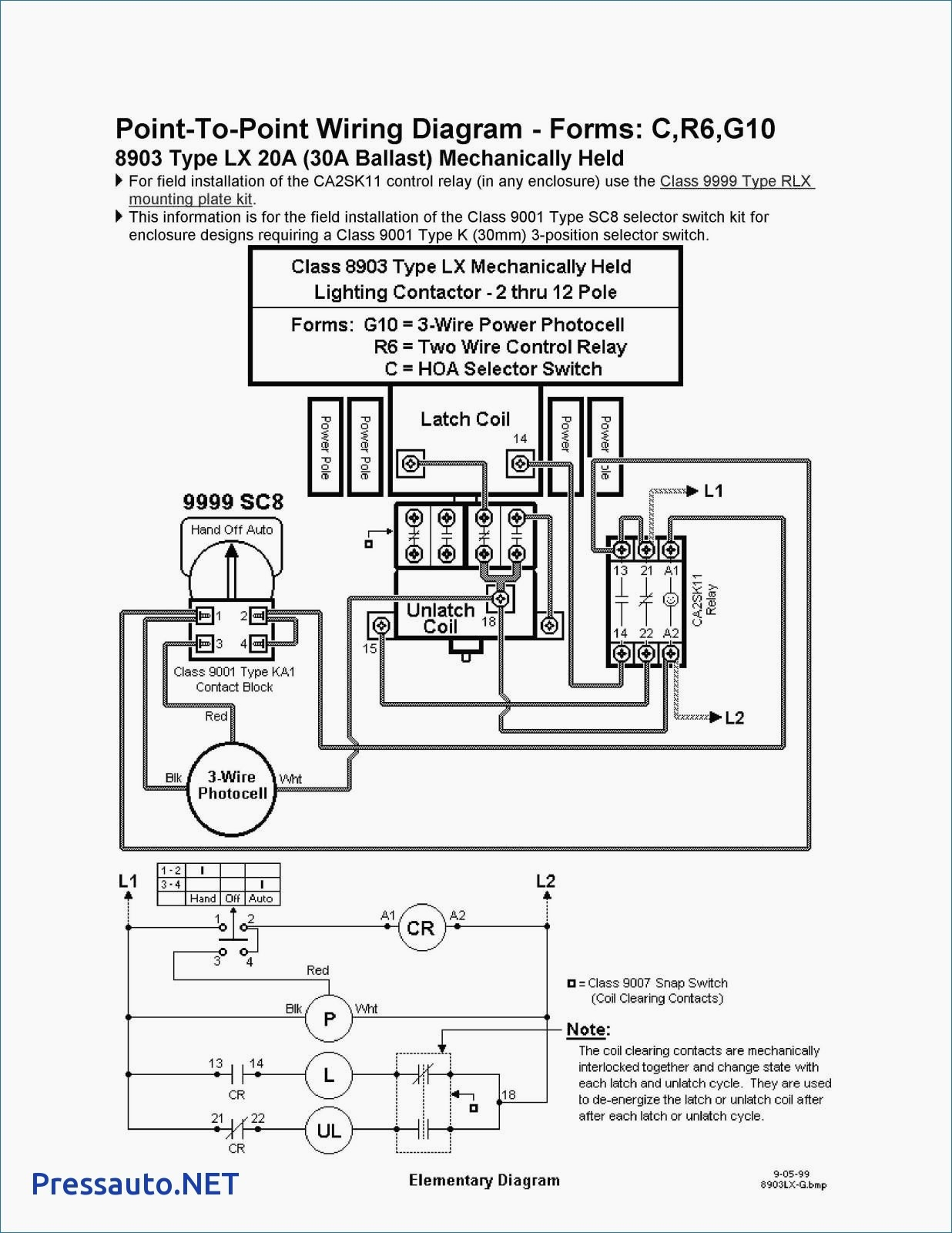square d lighting contactor class 8903 wiring diagram Download-Attractive Square D Contactor Wiring Diagram Model Electrical Lamp Wiring Diagram Best Eaton Lighting Contactor 10-r
