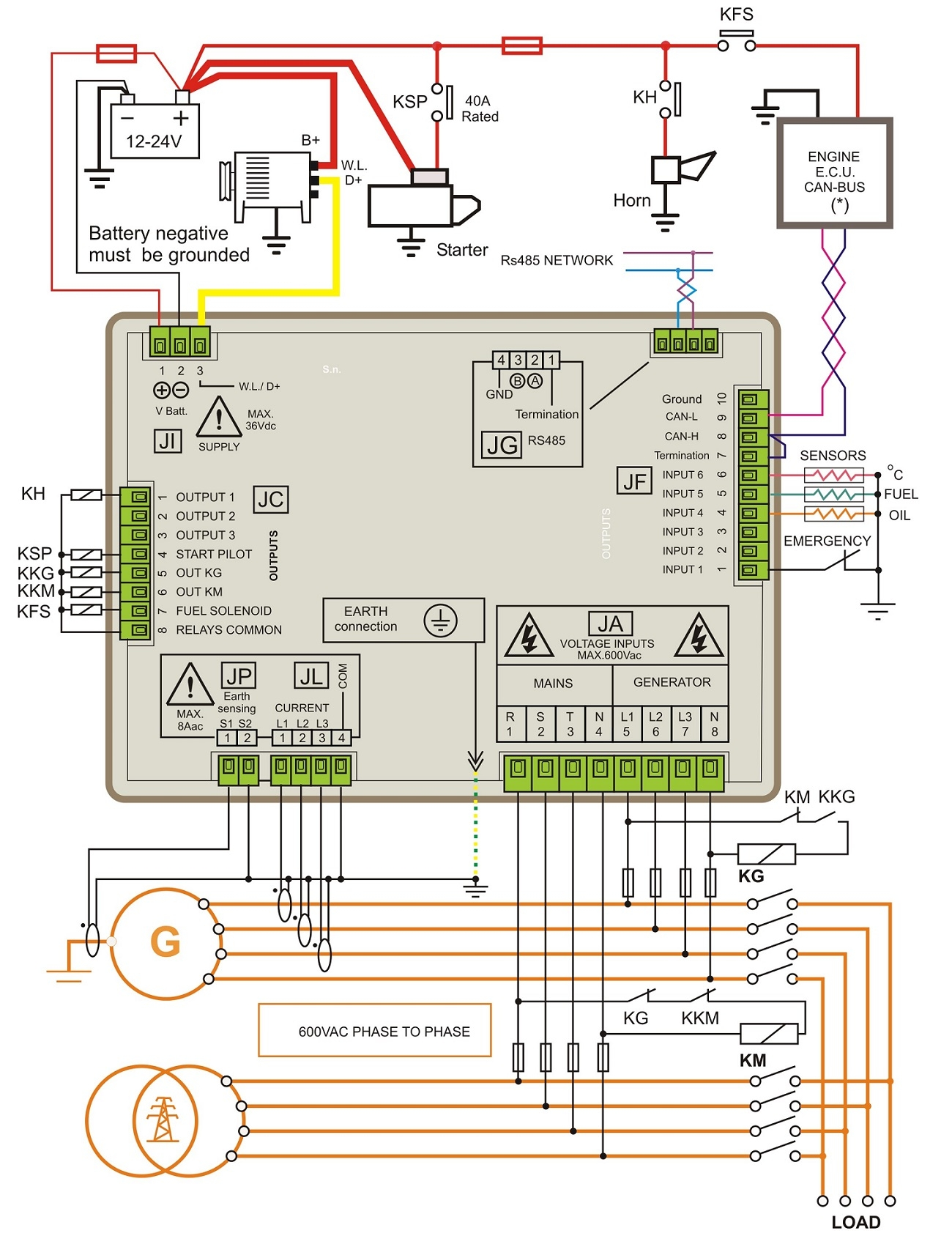 standby generator wiring diagram Download-Generator control panel wiring diagram 10-o