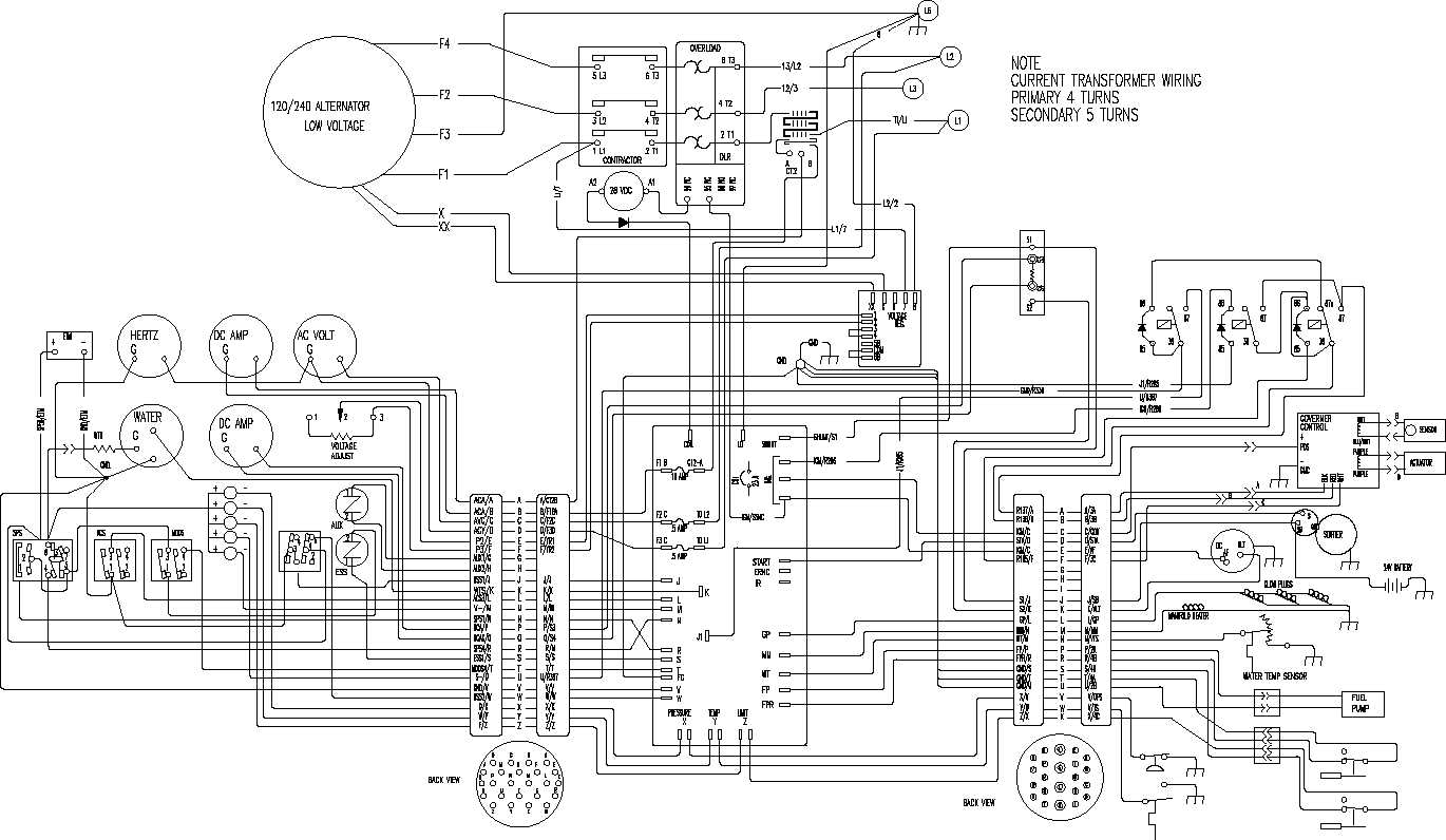 standby generator wiring diagram Collection-Standby Generator Wiring Diagram Diagrams Genset Wiring Diagram Diesel Generator within 6-o