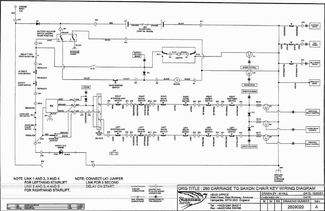 stannah 420 wiring diagram Download-Stannah Stair Lift Wiring Diagram 16-e