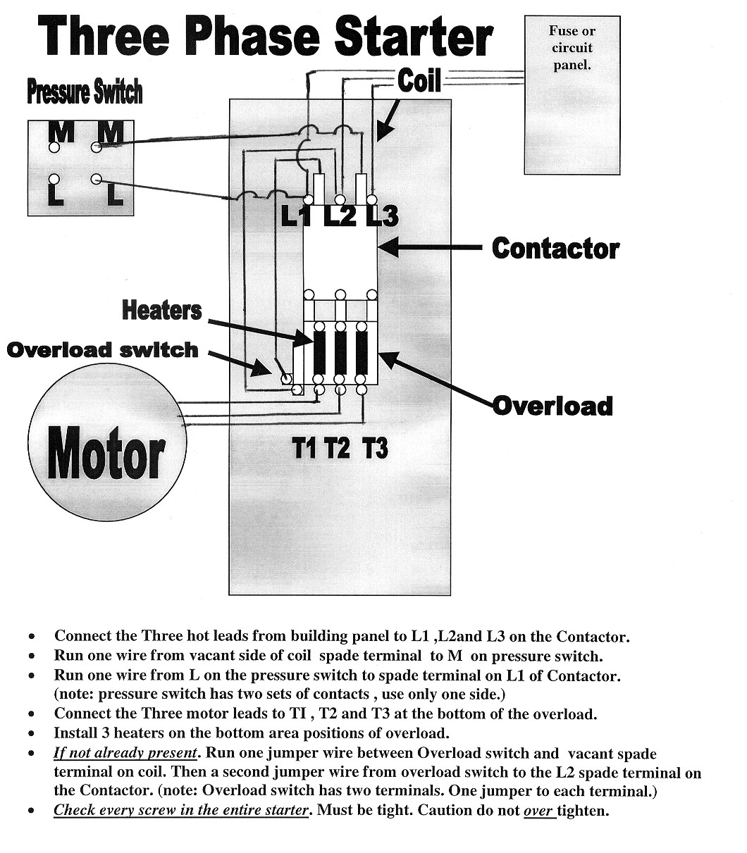 Start Stop Wiring Diagram Motor
