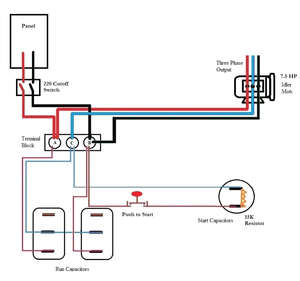 Static Phase Converter Wiring Diagram